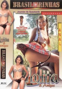 Filme pornô Lolita e Amigas Capa da frente