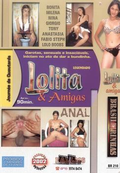 Filme pornô Lolita e Amigas capa de Trás
