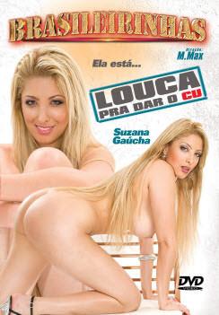 Filme pornô Louca pra dar o cu Capa da frente
