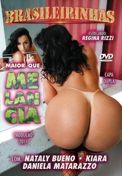 Filme pornô Maior que melancia  Capa da frente
