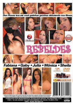 Filme pornô Meninas Rebeldes capa de Trás