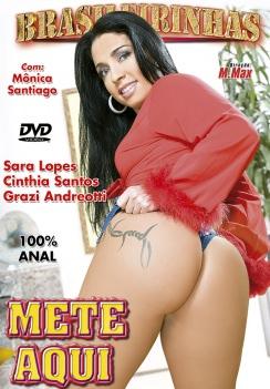 Filme pornô Mete Aqui Capa da frente