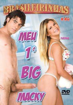 Filme pornô Meu primeiro Big Macky Capa da frente