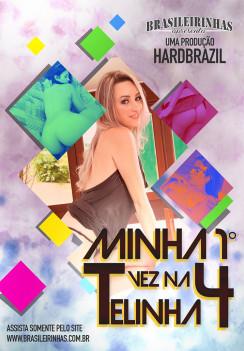 porn Minha Primeira Vez na Telinha 4 Front cover