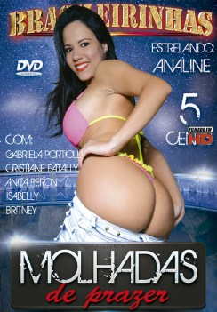 Filme pornô Molhadas de Prazer Capa da frente