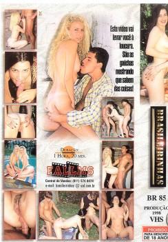Filme pornô Molhadinha capa de Trás