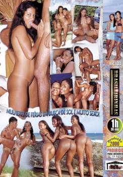 Filme pornô Mulatas em Ferias capa de Trás