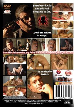 Filme pornô Na teia do sexo capa de Trás