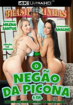 porn Negão da Picona e Cia 4K Front cover