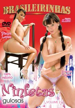 Filme pornô Ninfetas Gulosas 2 Capa da frente