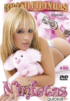 Filme pornô Ninfetas Gulosas Capa da frente