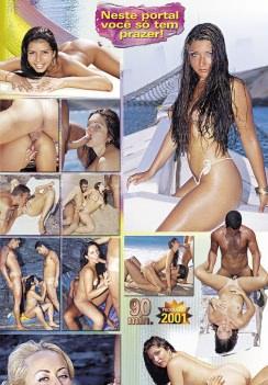 Filme pornô No Limite capa de Trás
