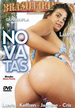 Filme pornô Novatas Capa da frente