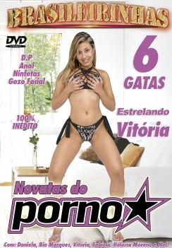 Filme pornô Novatas do Pornô Capa da frente