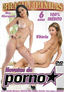 Filme pornô Novatas do Pornô Capa Hard