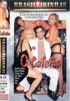 Filme pornô O Cafetão Capa da frente