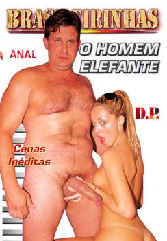 Filme pornô O Homem Elefante Capa da frente