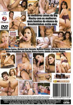 Filme pornô O Melhor de Big Macky capa de Trás