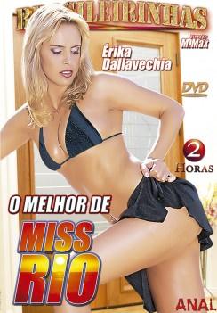 Filme pornô O Melhor de Miss Rio Capa da frente