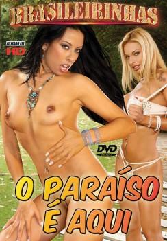 Filme pornô O Paraíso É Aqui Capa da frente