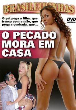 Filme pornô O Pecado Mora em Casa Capa Hard