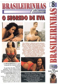 PornO Segredo de Eva Cover Back