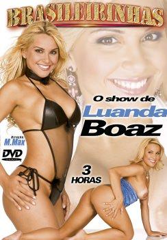 Filme pornô O Show de Luanda Boaz Capa da frente