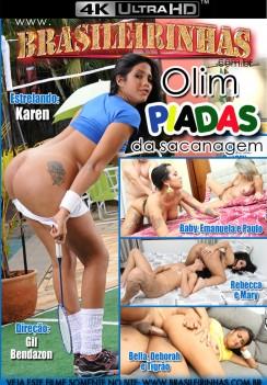 Filme pornô Olim Piadas da Sacanagem Capa Hard
