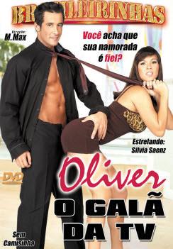 Filme pornô Oliver o Galã da TV Capa da frente