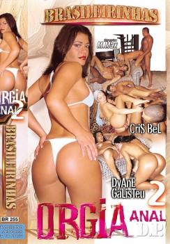 Filme pornô Orgia Anal 2  Capa da frente