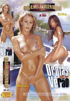 Filme pornô Orgias de Verão Capa da frente