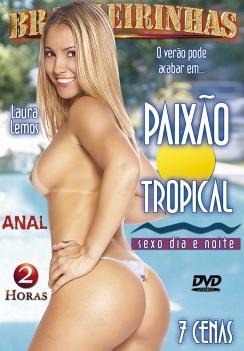 Filme pornô Paixão Tropical Capa da frente