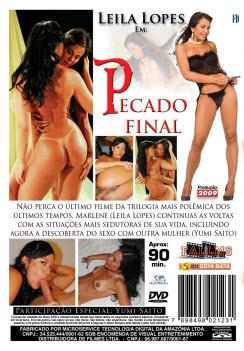 Filme pornô Pecado Final capa de Trás