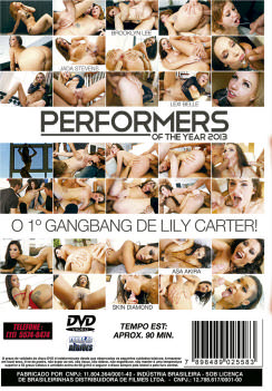 Filme pornô Performers Of The Year 2013 capa de Trás
