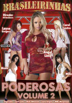 Filme pornô Poderosas 2 Capa da frente