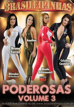 Filme pornô Poderosas 3 Capa da frente