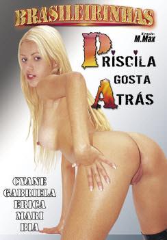 Filme pornô Priscila gosta atrás Capa da frente