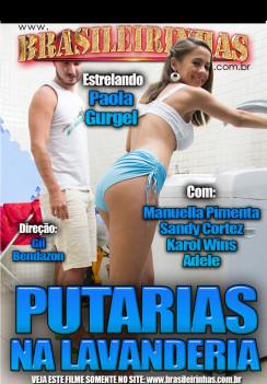 Porn Putarias na Lavanderia Hard cover