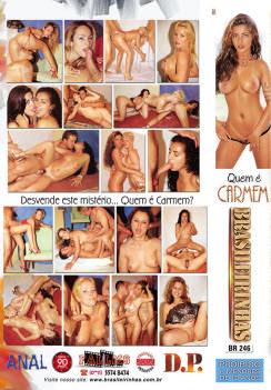 Filme pornô Quem é Carmem capa de Trás