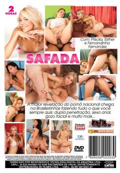 Filme pornô Safada capa de Trás