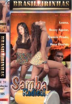 Filme pornô Samba Radical Capa da frente