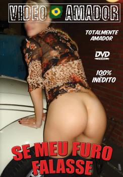 Filme pornô Se Meu Furo Falasse Capa Hard