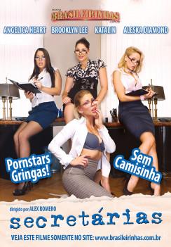 porn Secretárias Front cover