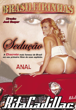Filme pornô Sedução - Rita Cadillac Capa da frente