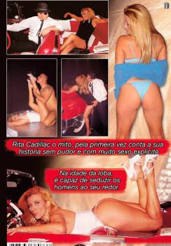 Filme pornô Sedução - Rita Cadillac capa de Trás