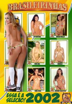 Filme pornô Seleção Brasileirinhas 2002 Capa da frente