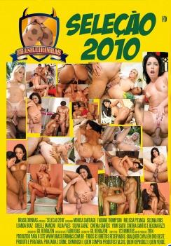 Filme pornô Seleção Brasileirinhas 2010 capa de Trás