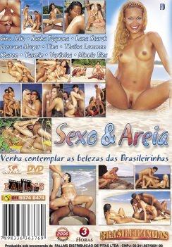 Filme pornô Sexo e Areia capa de Trás