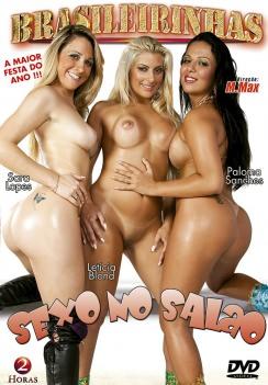 Filme pornô Sexo No Salão 2010 Capa Hard
