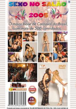 Filme pornô Sexo No Salão 2005 capa de Trás